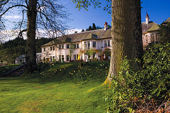 Hilton Dunkeld House enjoys a stunning location on the banks of the River Tay.