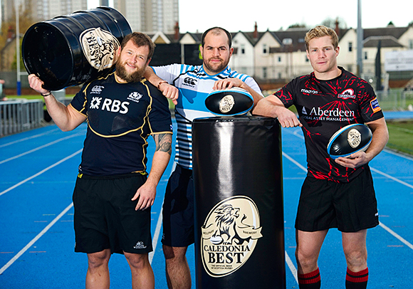 Ale be there for you: Caledonia Best's deal spans professional rugby in Scotland.