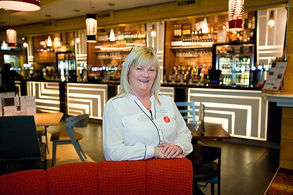 Anne Fallon has taken the helm of JD Wetherspoon's An Ruadh Ghleann pub.