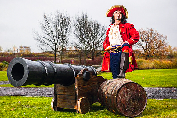 "Diageo credits the ""strong personality"" of Captain Morgan for driving global sales of the brand."