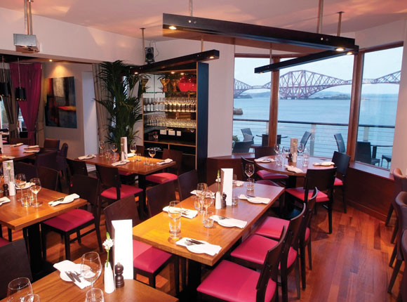 Samphire takes root at orocco pier scottish licensed for Furniture queensferry