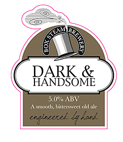 New design for the brewer's Dark & Handsome.