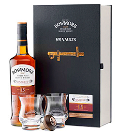 "The ""seductive"" Bowmore 15 year old."
