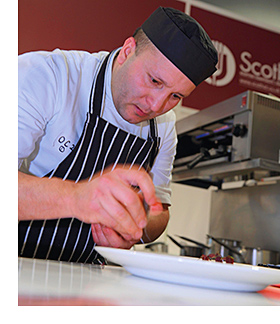Chefs can enter as many as 50 different culinary competitions.