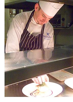 David Jamieson, Head chef, Doubletree by Hilton Dunblane Hydro, Dunblane
