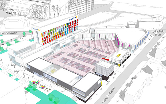 New Hotel Set To Bloom In Heart Of Commonwealth Games Glasgow - Hotel design games