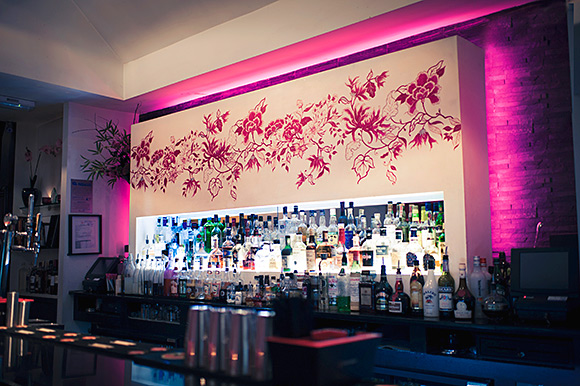 Style and substance: Orchid's back bar