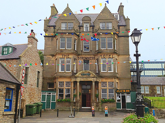 Property firm Bruce & Co is marketing the three-star Stromness Hotel with a price tag of £850,000.