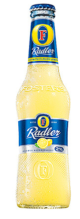 Foster's Radler, which comes to the UK market in March, is a blend of Foster's lager
