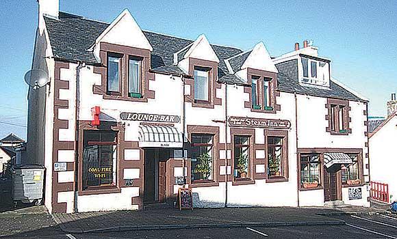 Mallaig pub and restaurant the Steam Inn.