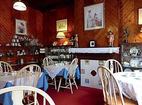 Kitty's Tearoom in New Galloway.
