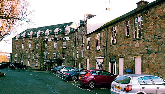 The Watermill Hotel was put into administration at the beginning of the year but continues to trade.