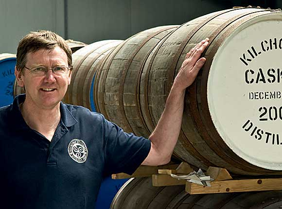Distillery boss Andy Wills said the new warehouse will create extra storage.