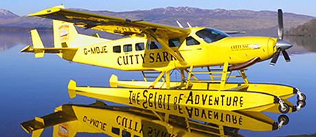 Come fly with me: the blend has joined forces with Loch Lomond Seaplanes.