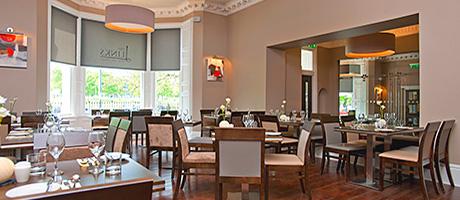 The Links Hotel in Edinburgh was refurbished in 2011. It overlooks the Bruntsfield Links.