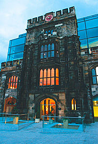 """THE Glasshouse in Edinburgh is the first Scottish property to join Marriott International's portfolio of """"upscale"""" hotels."""
