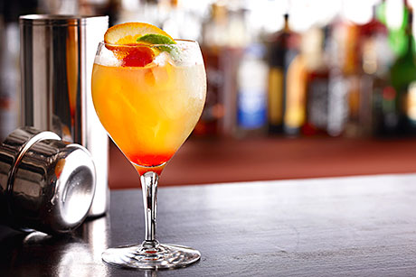 Summer drinks, such as cocktails, need to be promoted in outlets in order to maximise sales.