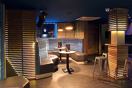 Chris Lessani and Gary MacCulloch visited venues in the UK capital and beyond as they sought design ideas for The Sanctuary, which launched last month in the former Boho nightclub on Dumbarton Road