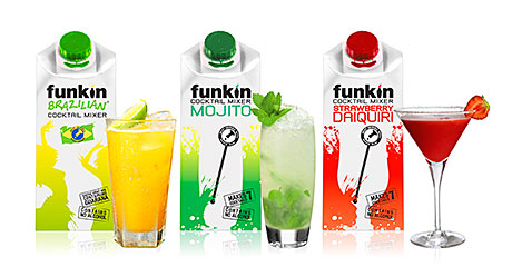 Funkin has a range of cocktail mixers.