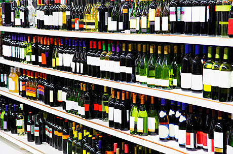 Off-trade wine sales were down 4% in the year to October 2012, according to the report.