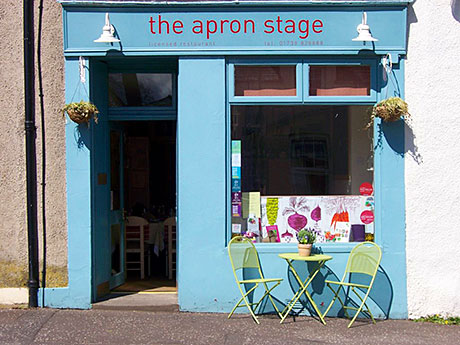 The Apron Stage in Stanley, Perthshire.