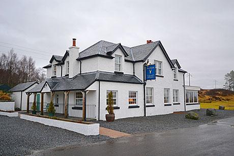 The Moor of Rannoch Hotel by Rannoch Station, Perthshire.