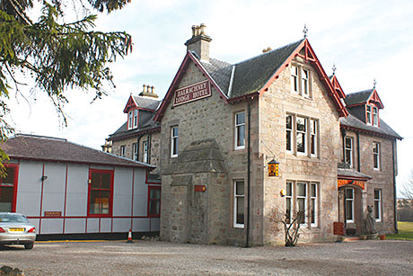 The Dalrachney Lodge Hotel attracted interest from around the UK and Europe.