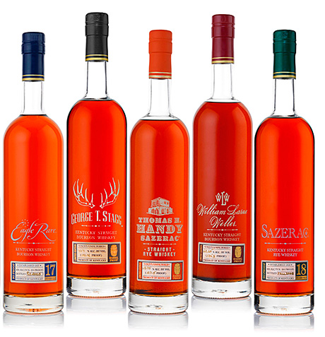 The Buffalo Trace Antique Collection.