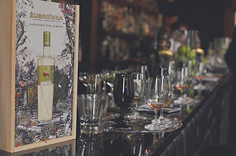 • The Zubrowka tasting at Voodoo Rooms.