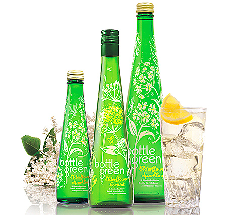 Limited edition bottles have been introduced to Bottlegreen's Elderflower variants.