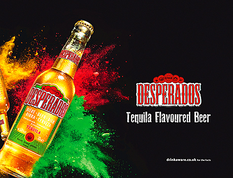 Touch of magic for Desperados
