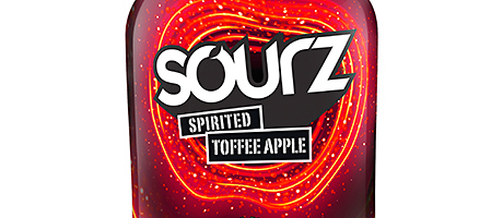 The new Sourz Spirited Toffee Apple.