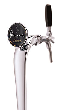 On tap: sparkling wine and Prosecco.