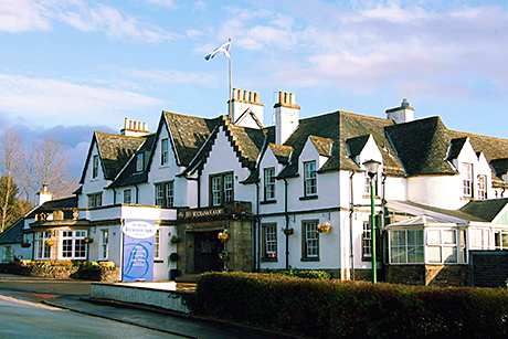 The hotel has 52 bedrooms and a range of bar and restaurant areas.