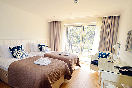 The lodge interiors aim to offer hotel-standard accommodation in stand-alone units.