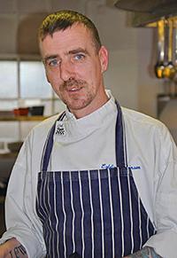 Eddie Atkinson, Head chef, RiverView Restaurant, Atholl Arms Hotel, Dunkeld