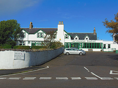 The Scourie Hotel in Sutherland is said to be popular with fishing tourists and locals.