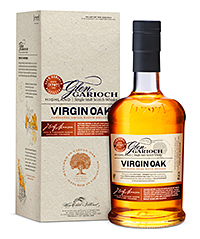 The 46% ABV Glen Garioch Virgin Oak.