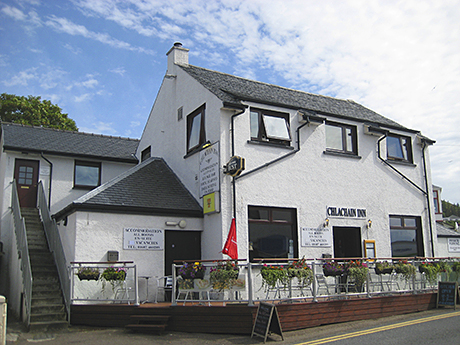 The Chlachain Inn is located in Mallaig.