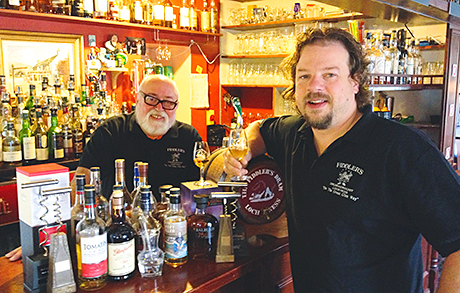 Jon and Dick will take a number of malts to the event in Monaco.