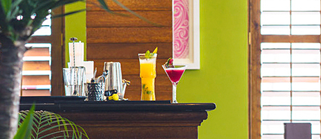 The new bar at Mithas.