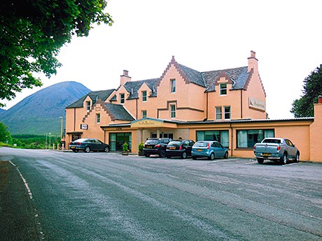 The Broadford Hotel on the Isle of Skye is said to be the birthplace of Drambuie.