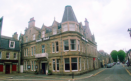 The Huntly Hotel in Aberdeenshire.