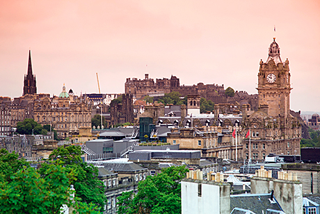 Edinburgh hotel revenues grew 19% in May.