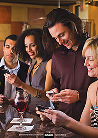 • Mobile technology is playing an increasingly important role in pubs, the report says.