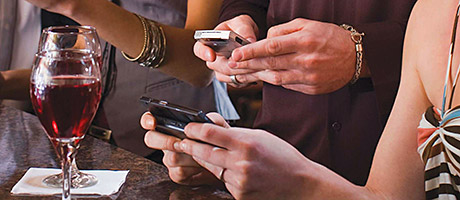 Mobile technology is playing an increasingly important role in pubs, the report says.