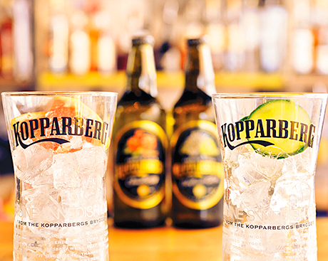 Cloudberry is paired with pink grapefruit while Elderflower & Lime is matched with cucumber.