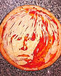 South side chef creates a pizza Warhol artwork