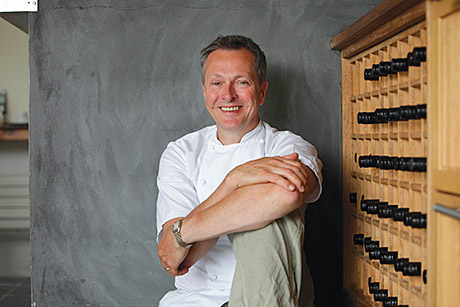 "Going local: Nick Nairn said the north east is home to ""amazing"" produce."