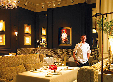 Andrew Fairlie at Gleneagles has taken the top Scottish place in the Good Food Guide's 2014 edition. The restaurant has been open for more than 13 years.